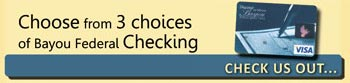 3 choices for checking